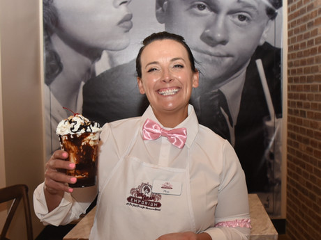 50's Styled Ice Cream Emporium Opens in Downtown Ripon