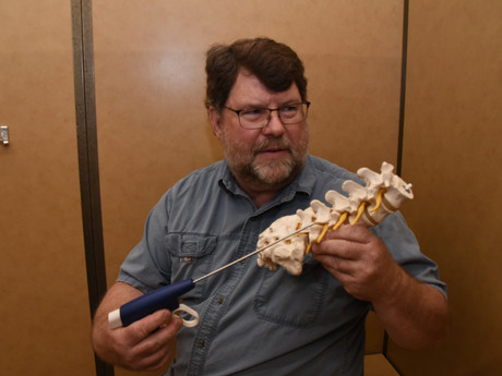 Reeves Has History in Medical Spinal Stenosis Treatment
