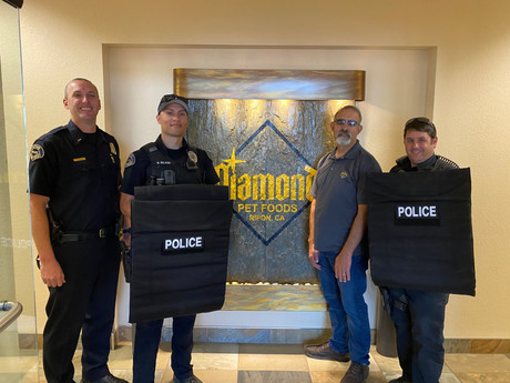 Ripon Police Purchases Rollup Ballistic Shields