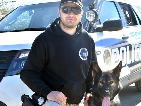 Sheriff Sends K-9s to Ripon Top Dog Training Center