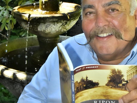 Mangelos Pens New Book on Ripon's Past and Present