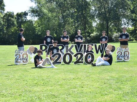 Impromptu Graduation for Park View 8th Grade Students