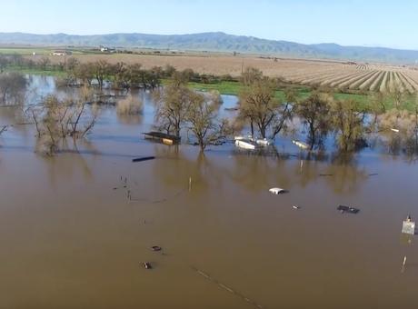 Manteca Flooding – 2/22/2017