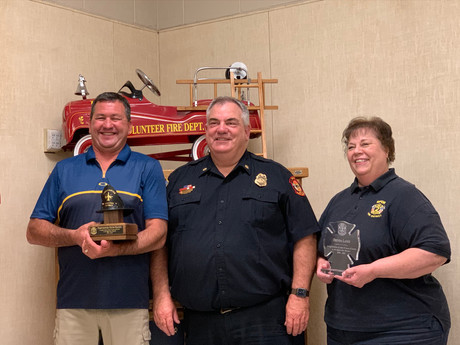 Ripon Fire District Personnel Receive Years of Service Awards