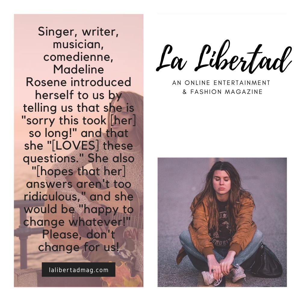 Madeline Rosene La Libertad Magazine