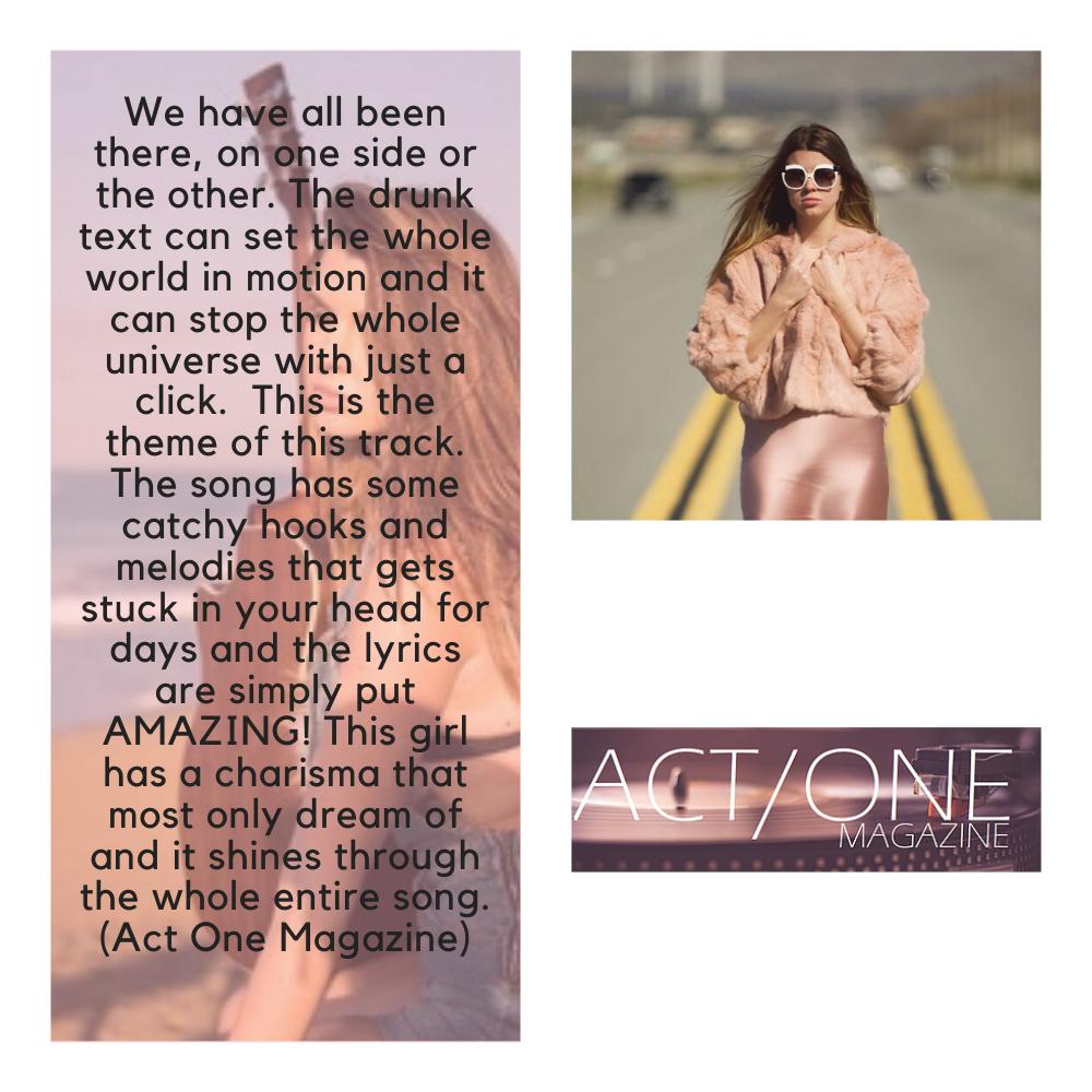 Madeline Rosene Act One Magazine