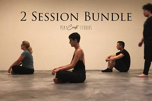 Collaborative Devised Theatre - 2 Approaches Sessions Bundle