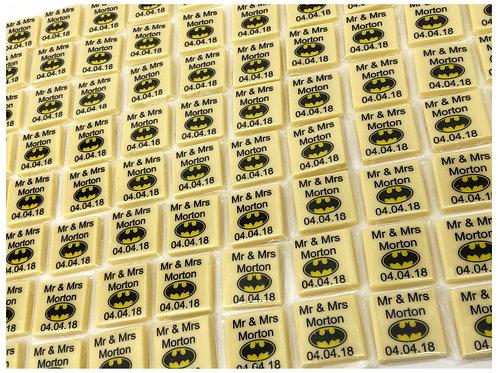 Belgian Chocolate Squares x50
