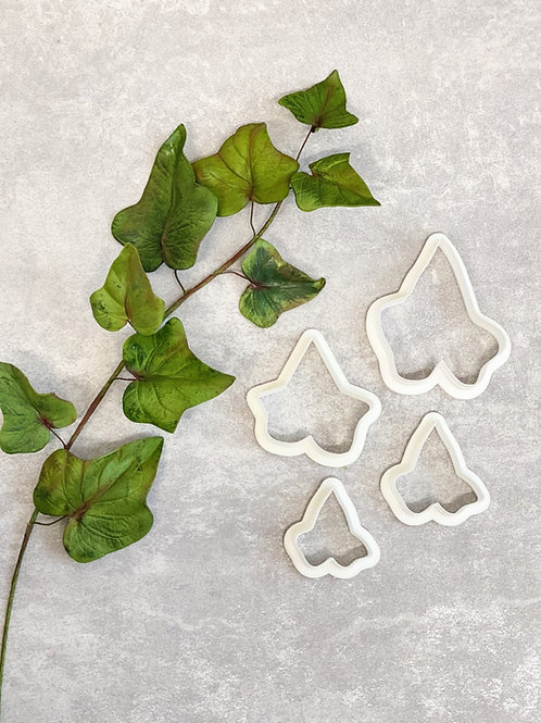 Ivy Leaves - Set of 4 - Plastic