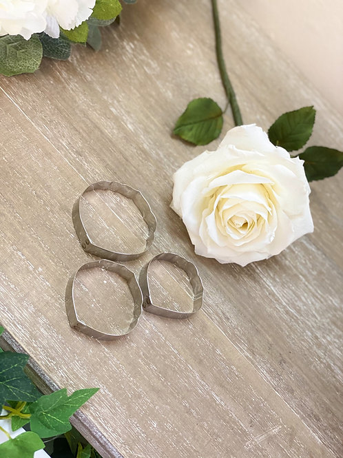 Rose Petal Cutters - Stainless Steel