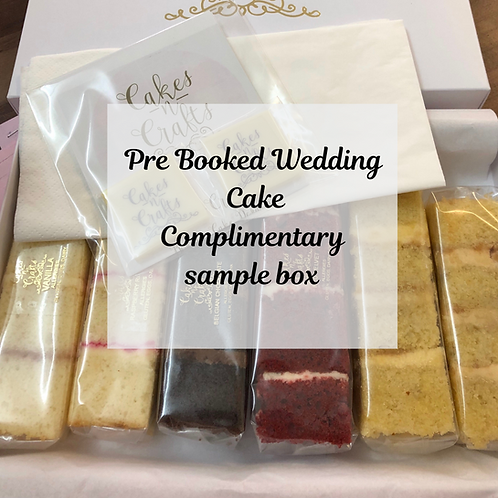 Sample Box - Weddings pre booked - January 21
