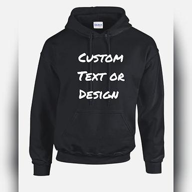 Custom Digital & Text Hoodies Unisex