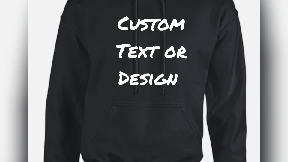 Custom Digital & Text Hoodies Unisex