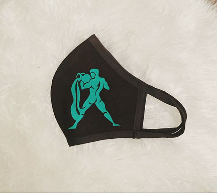 Customized Reusable Dual Layer Cloth Zodiac Face Mask