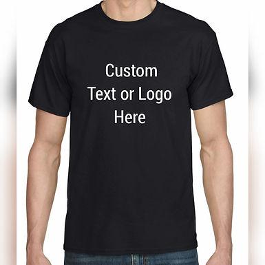 Custom  Digital & Text  T-Shirt's Men/Ladies