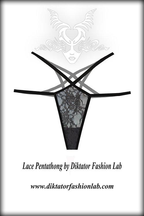 Lace Pentagram Thong, Original Pentathong