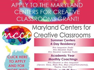 Maryland Center for Creative Classrooms -- $$ for Dance PD