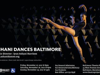 Ashani Dances FIVE @ Baltimore's Theatre Project