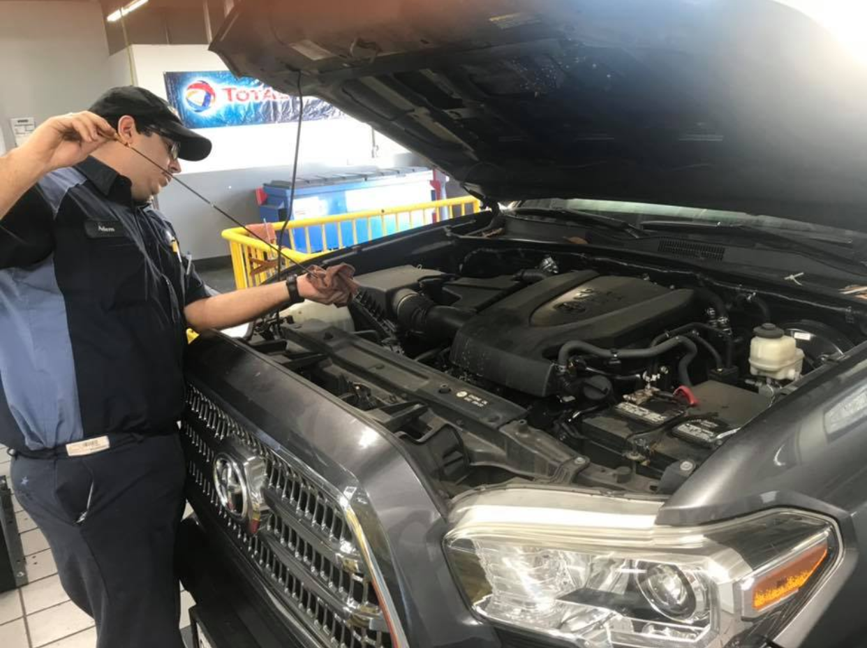 SYNTHETIC BLEND OIL SERVICE
