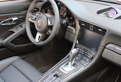 Porsche Dash Auto Detailing