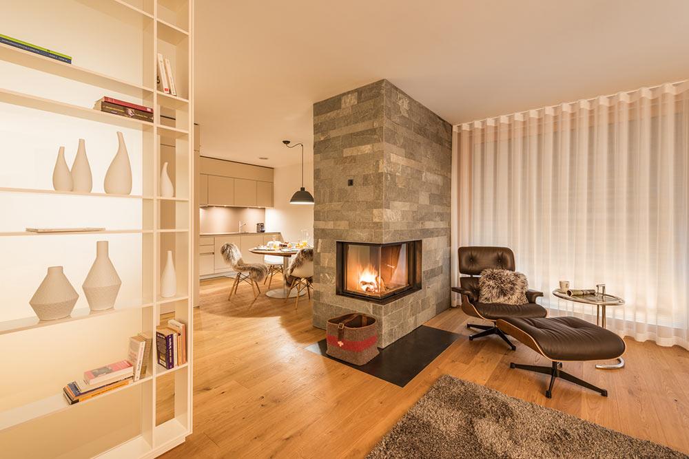 Hirsch-Wohnzimmer