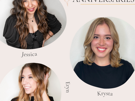 Three Stylists Celebrate 5 Years in May & June