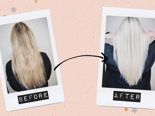 Taking your hair from Dark to LIGHT