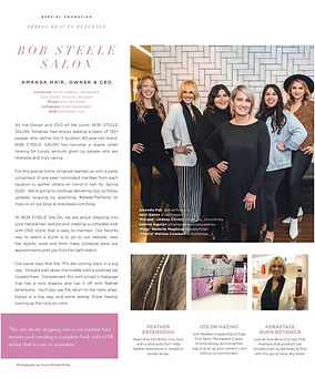 Bob Steele Salon spring hair trends