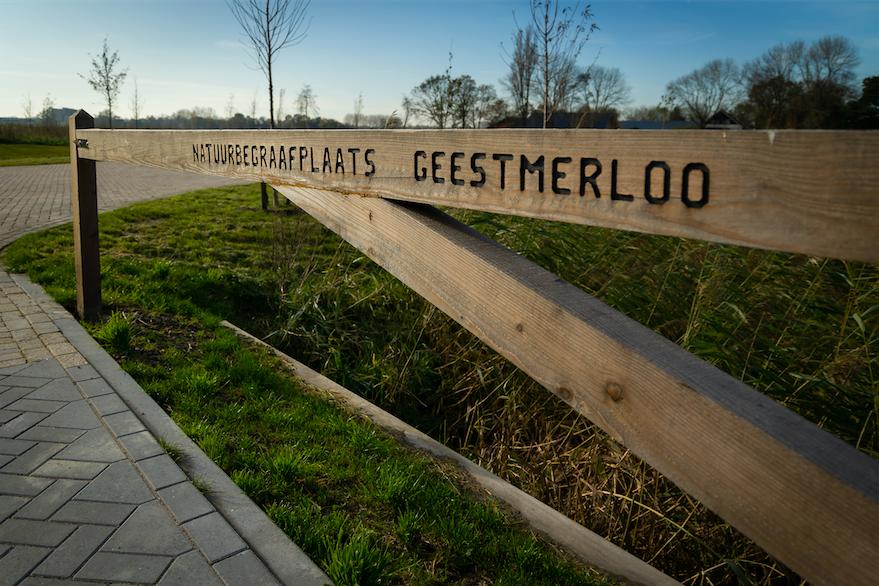 Natuurbegraafplaats Geestmerloo Koedijk.