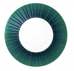 Mirror emerald green glass