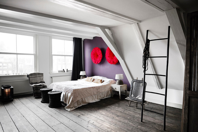 Bedroom Residential project Amsterdam