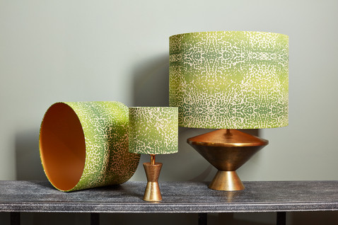 Customized lampshades by De CAMER