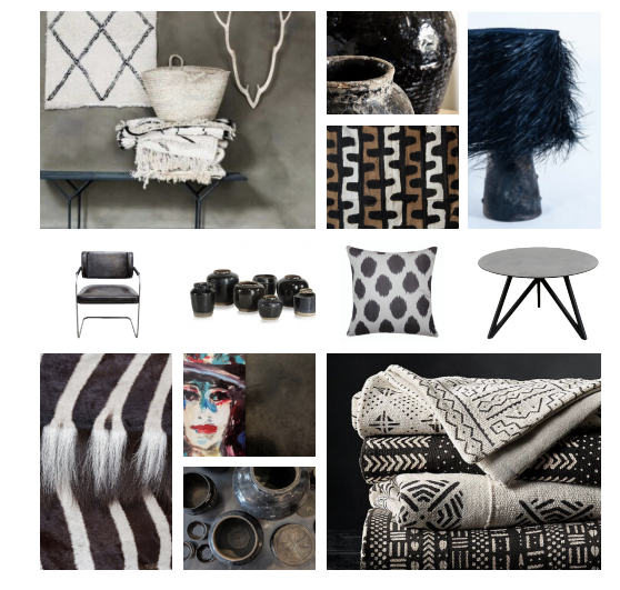 Moodboard for an office project