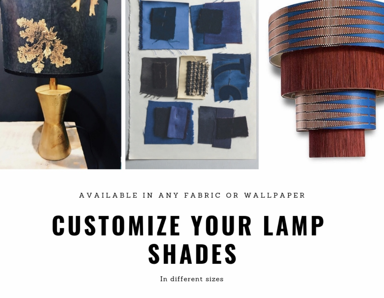 customize lampshades