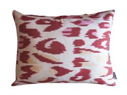 silk ikat pillow