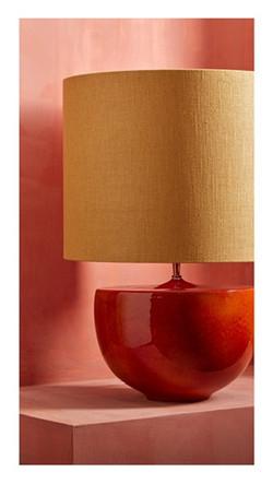 Lamp & customized shade