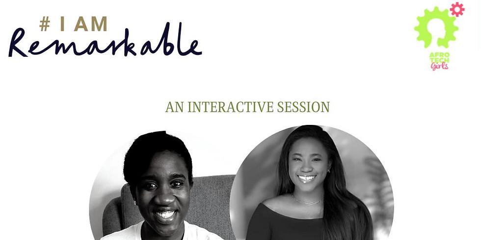 'I am Remarkable' Workshop - November 2020