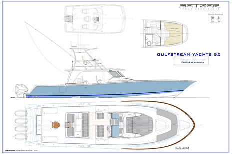 gulfstream yachts 52 open center console