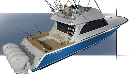 gulfstream yachts 52 full beam convertib