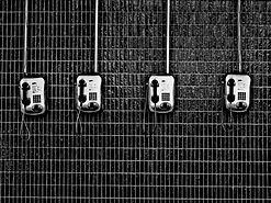 Vecchi telefoni a pagamento