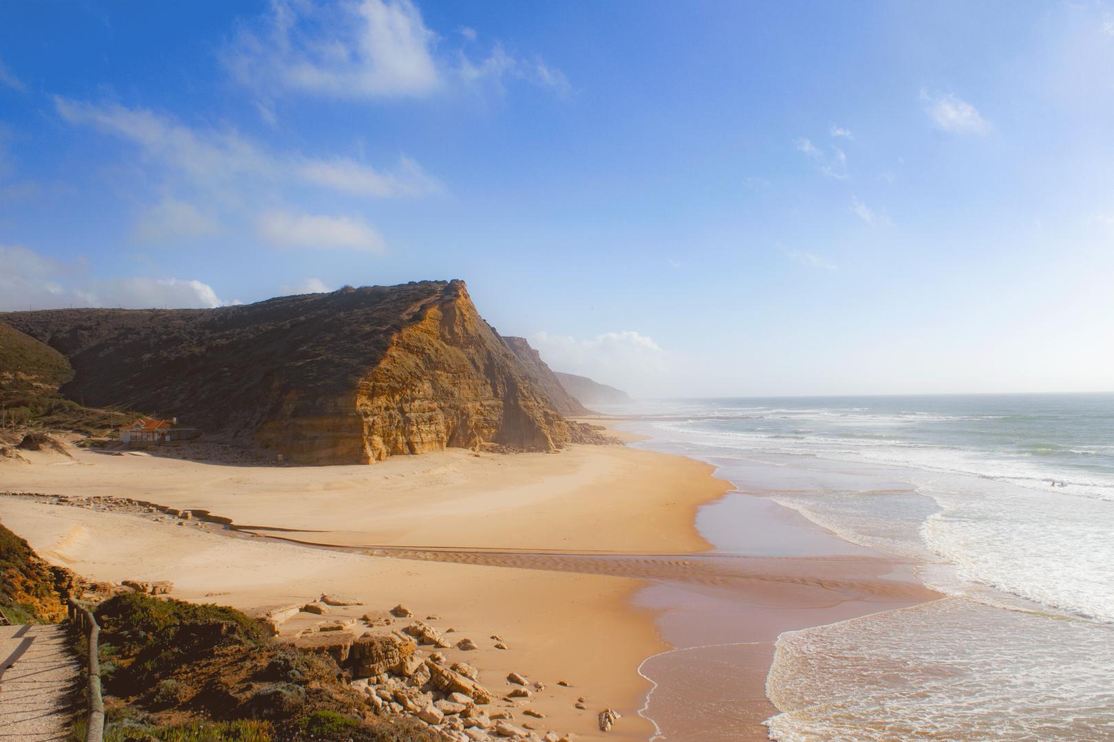Praia de São Julião, Ericeira. Portugal