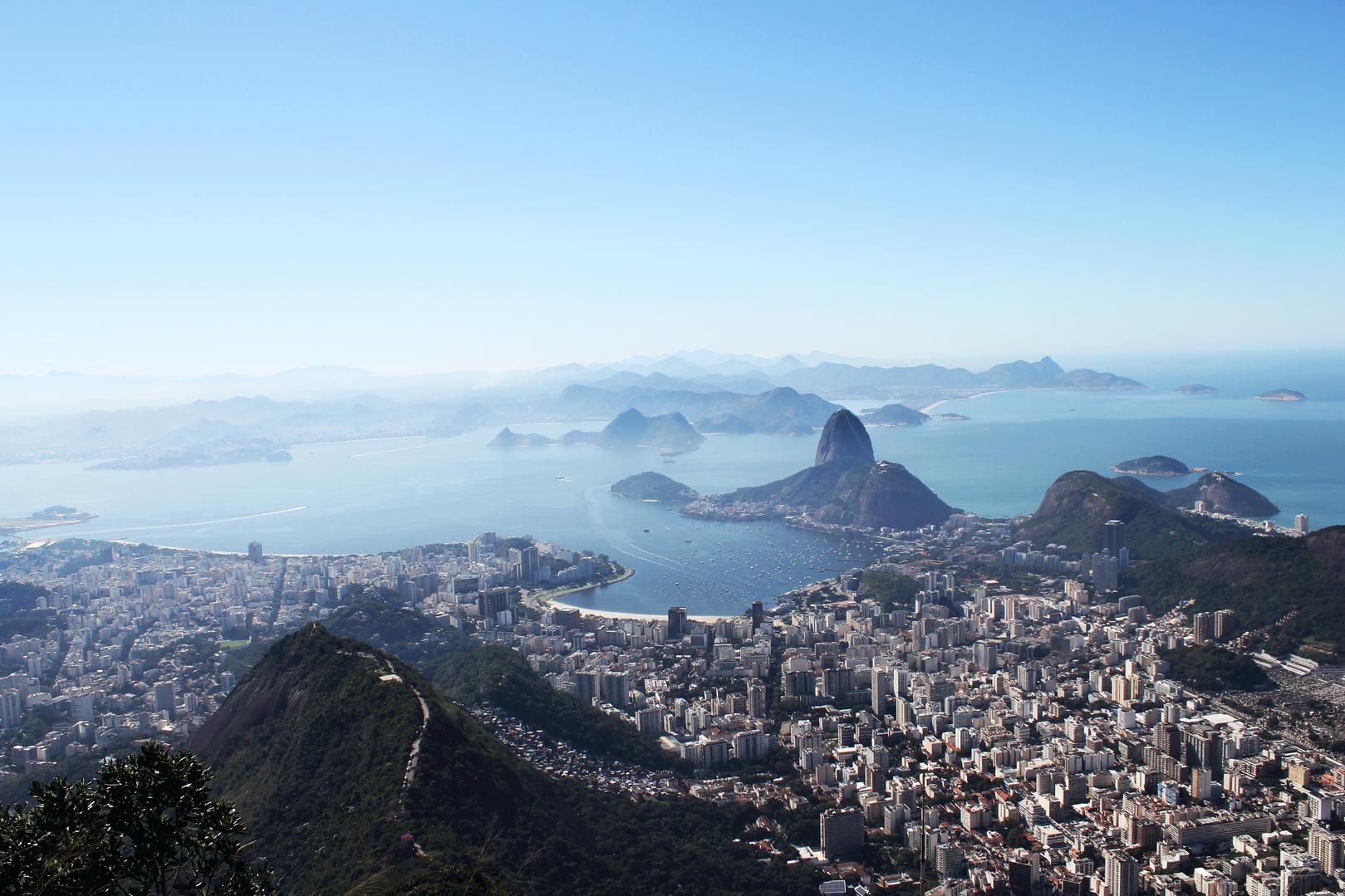 Mirador Cristo Redentor, Rio de Janeiro. Brazil