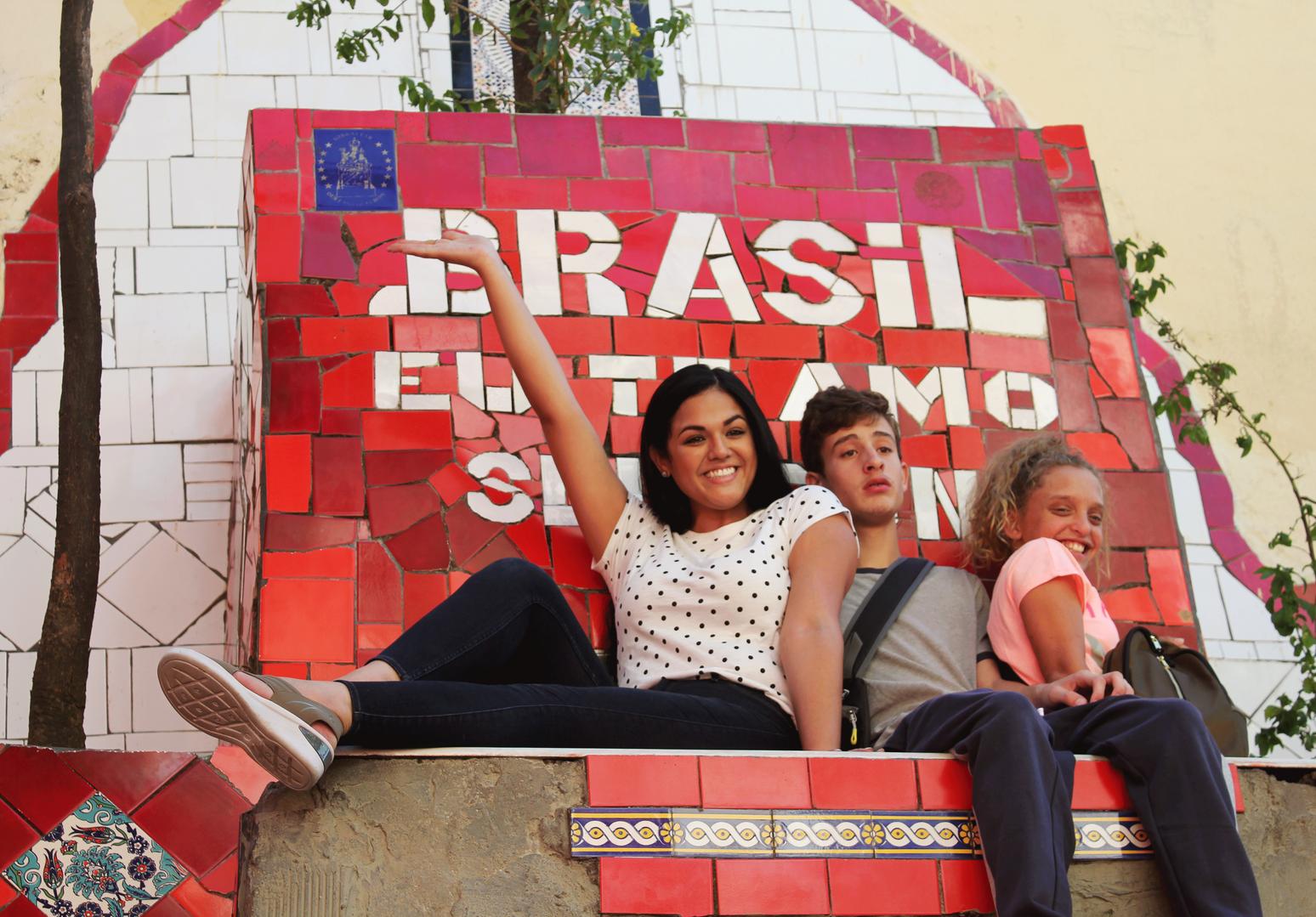 Escadaria Selarón, Rio de Janeiro. Brazil
