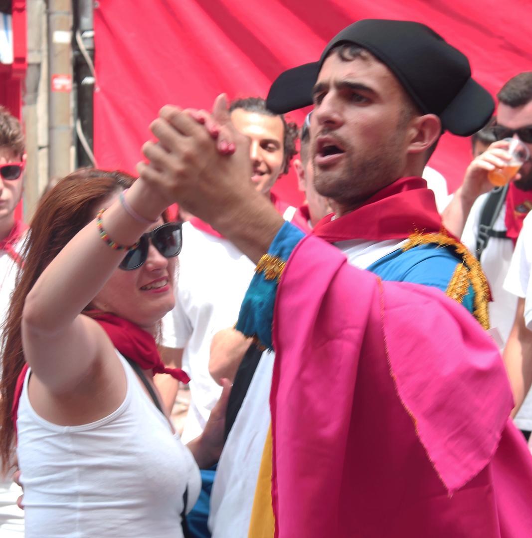 San Fermín Festival. Pamplona