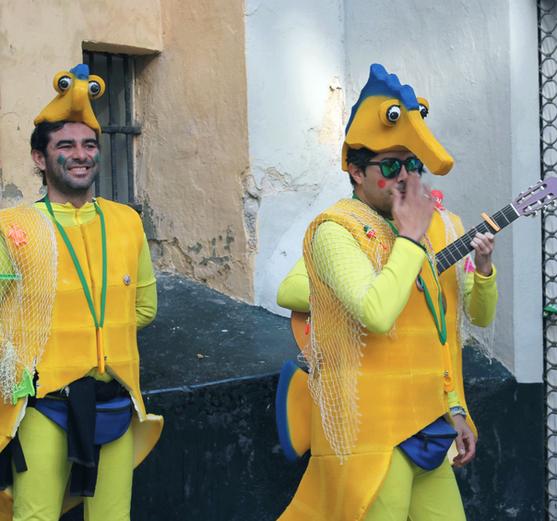 El Carnaval de Cádiz. Andalucía
