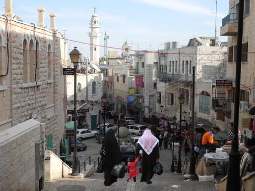 """""""El belén de Belén""""                   Cisjordania, Palestina"""