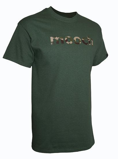 Green Camo print tee