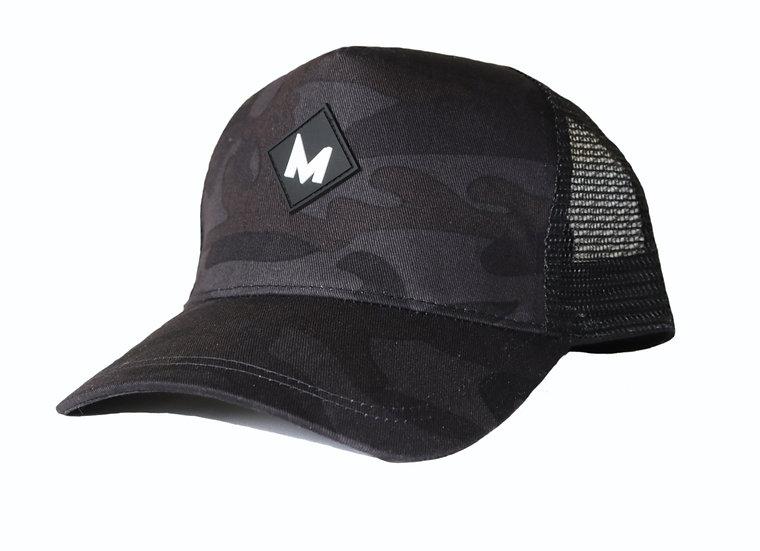 Dark Camo Trucker cap