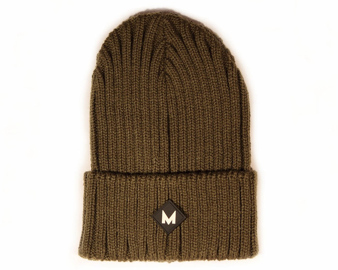 Moss Chunky Knit Beanie
