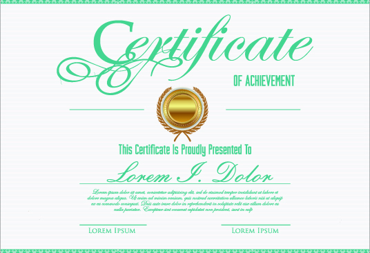 Downloadable E-Certificate